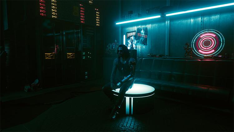 Johnny Silverhand Glitch Effect Removal / Cyberpunk 2077 Mod