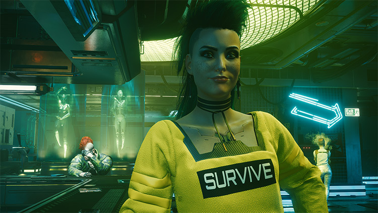Rogue Forever Young Mod for Cyberpunk 2077
