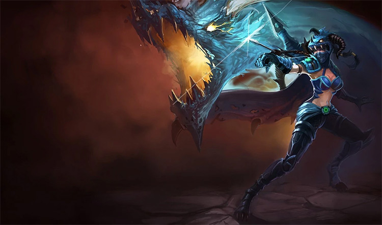 Dragonslayer Vayne Skin Splash