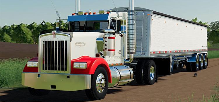 Kenworth W900 Truck Mod for FS19