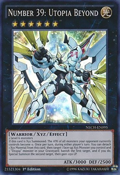 Number 39: Utopia Beyond YGO Card