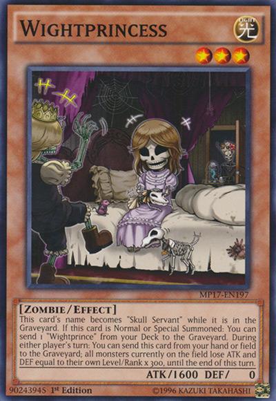 Wightprincess YGO Card