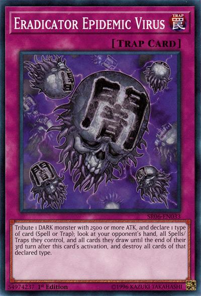 Eradicator Epidemic Virus Yu-Gi-Oh Card