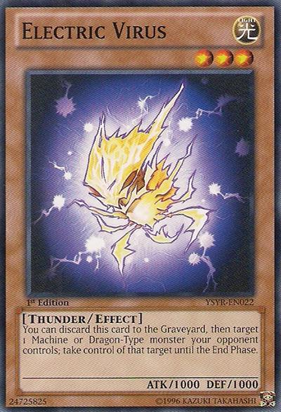 Electric Virus Yu-Gi-Oh Card