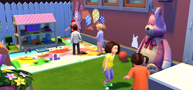 Freezer Bunny Daycare Stuff Pack Preview for TS4