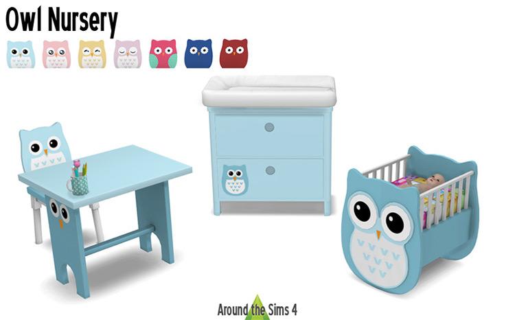 Owl Nursery Set / TS4 CC