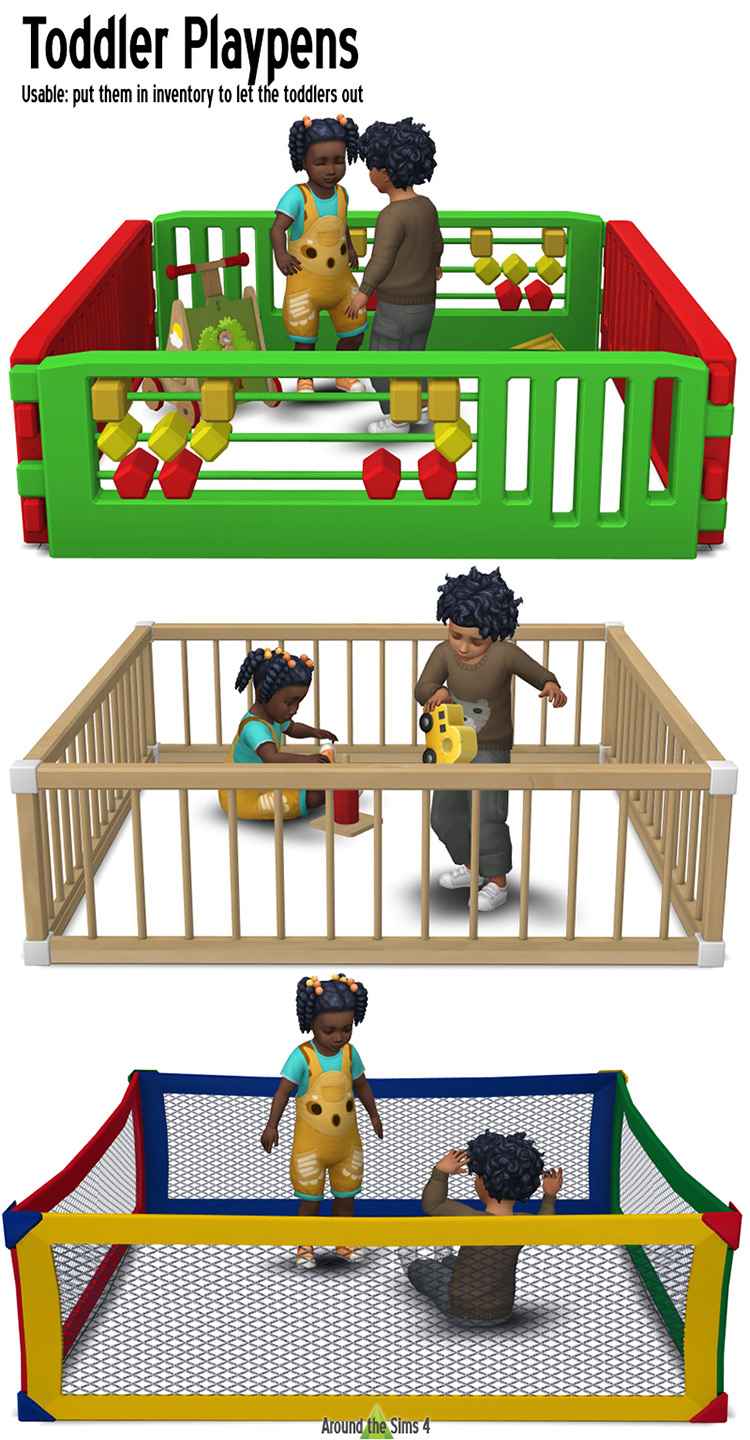 Toddler Playpens for The Sims 4
