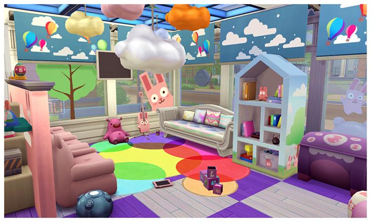 Freezer Bunny Daycare Stuff / TS4 CC