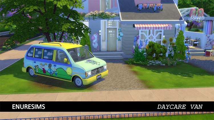 TS3 Daycare Van Conversion / Sims 4 CC