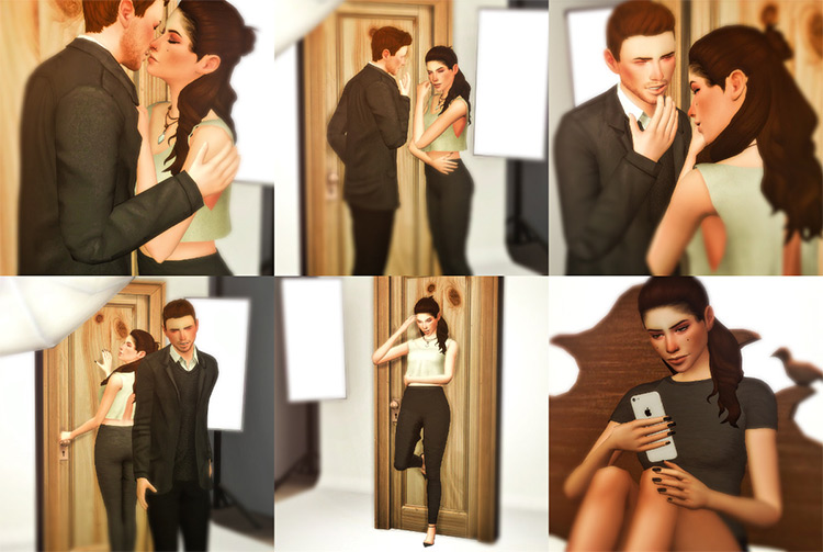 """""""First Date"""" Pose Pack / Sims 4"""