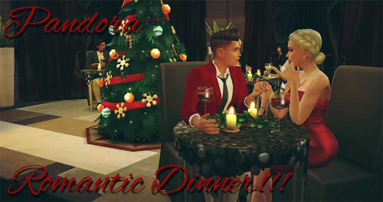 Romantic Dinner!!! by pandora-sims / Sims 4