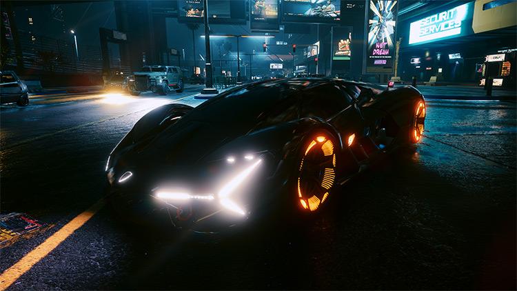 Lamborghini Terzo Millennio / Cyberpunk 2077 Mod