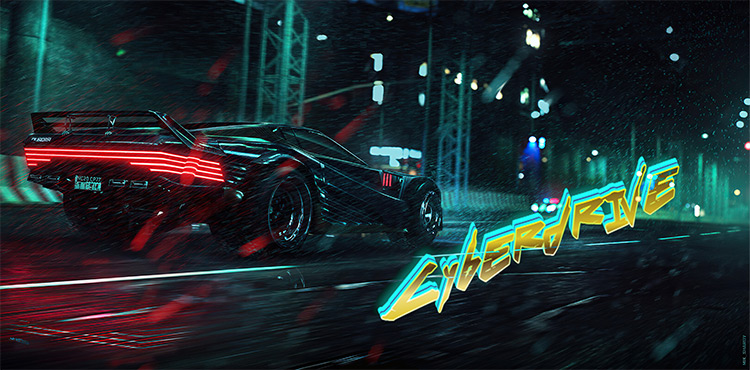 CYBERDRIVE Mod / Cyberpunk 2077