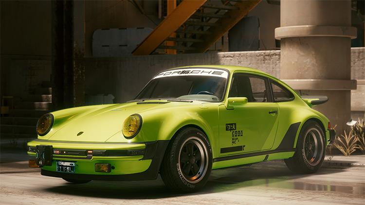 Porsche 911 Turbo Custom Paint Jobs Mod / Cyberpunk 2077
