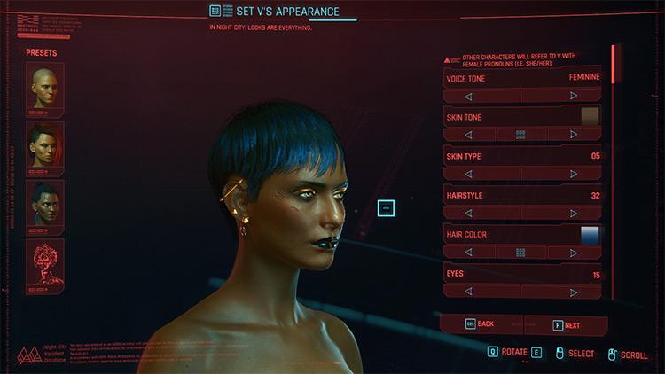 More Hairstyles / Cyberpunk 2077 Mod