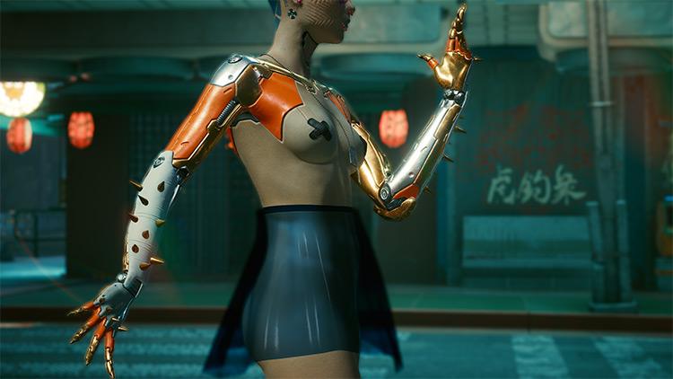 CyberKitsch CyberArms Mod / Cyberpunk 2077