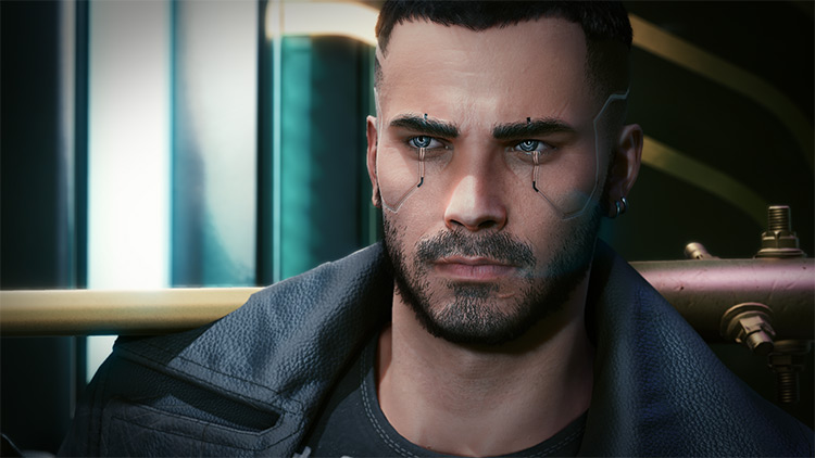 4K Complexions for Male V / Cyberpunk 2077 Mod