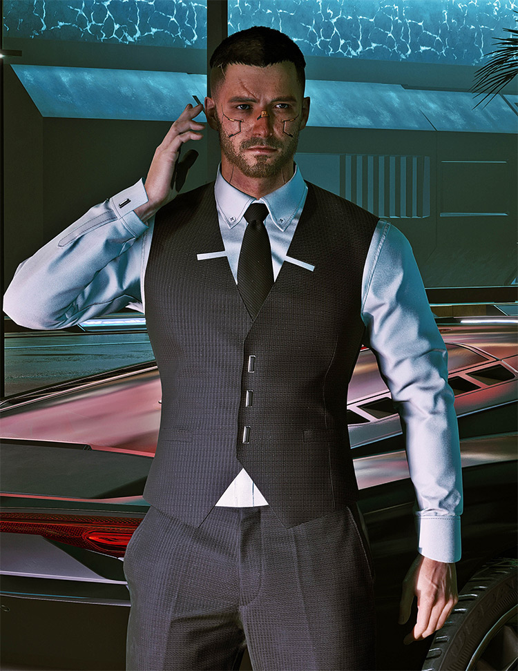 Ultra Handsome Male V Mod for Cyberpunk 2077