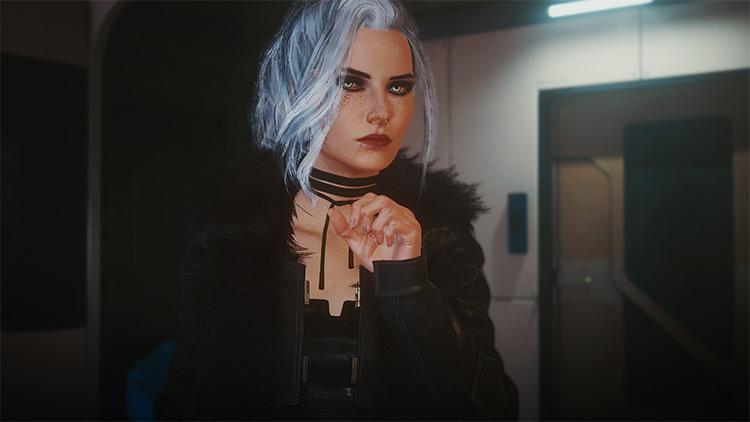 Look Like Ciri Mod / Cyberpunk 2077