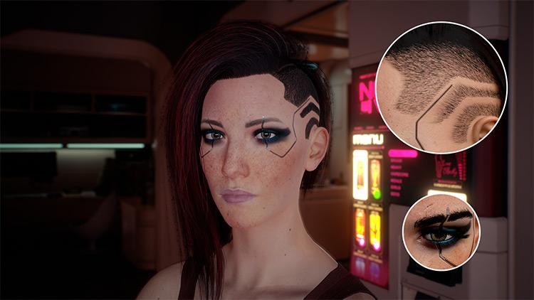 E3 Female V Mod for Cyberpunk 2077