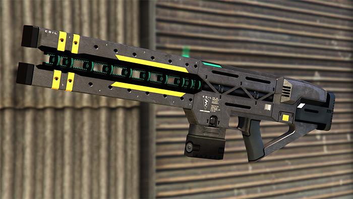 Railgun weapon in GTA 5