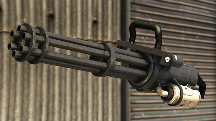 Minigun weapon in GTA 5