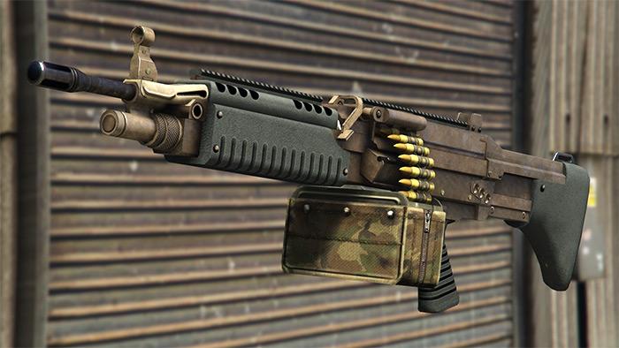 Combat MG in GTA 5