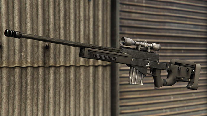 Sniper Rifle in GTA 5