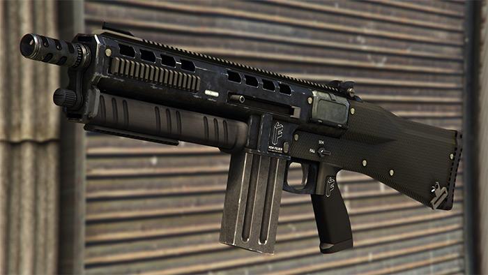 Assault Shotgun in GTA 5
