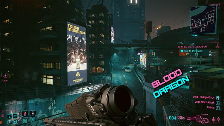 More UI & HUD Colors Cyberpunk 2077 Mod