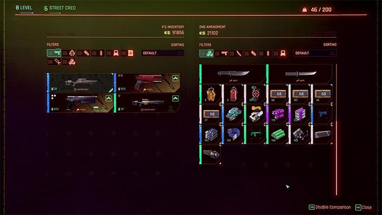 Hide Known Specs / Cyberpunk 2077 Mod