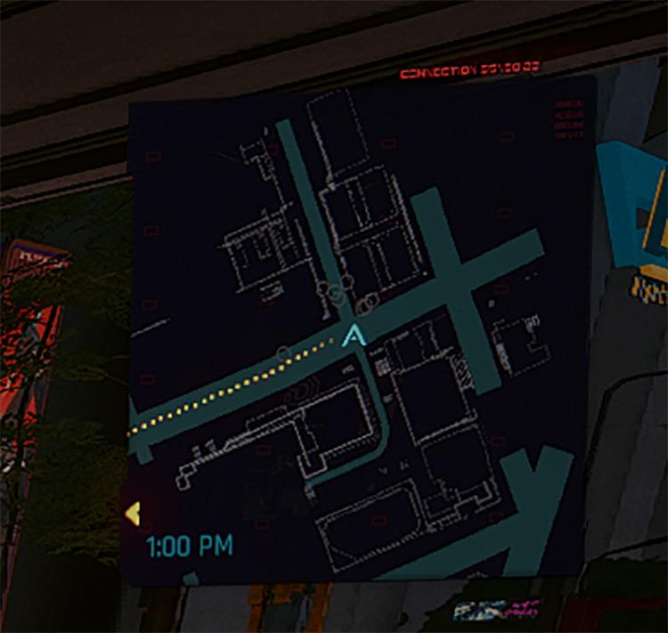 Better Minimap Mod for Cyberpunk 2077