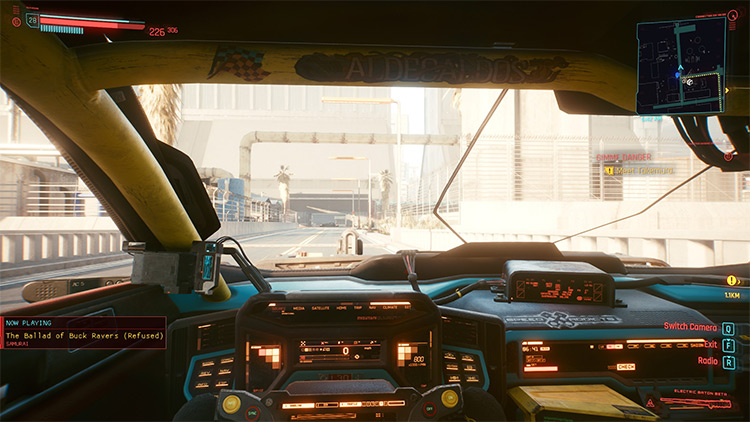 Now Playing Cyberpunk 2077 Mod Preview