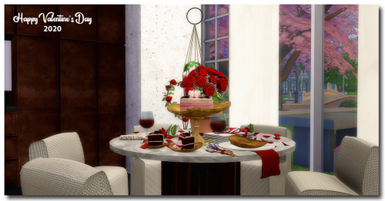 Dot's Roses Pack / Sims 4 CC