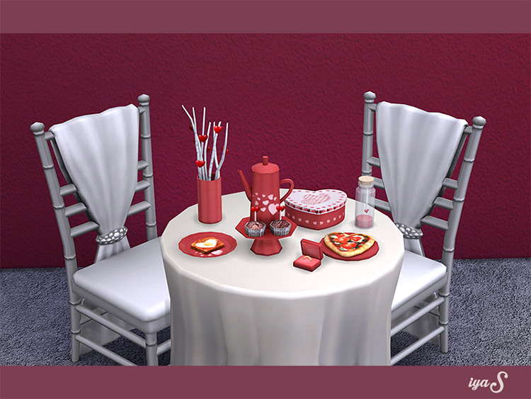 Will You Marry Me? CC Set / The Sims 4