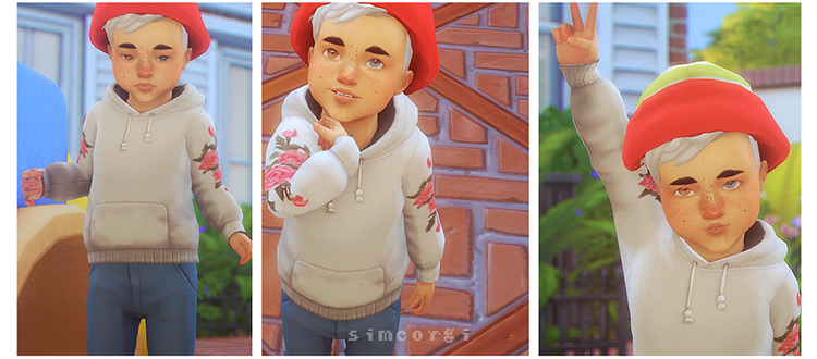 Little Monsters Poses / Sims 4