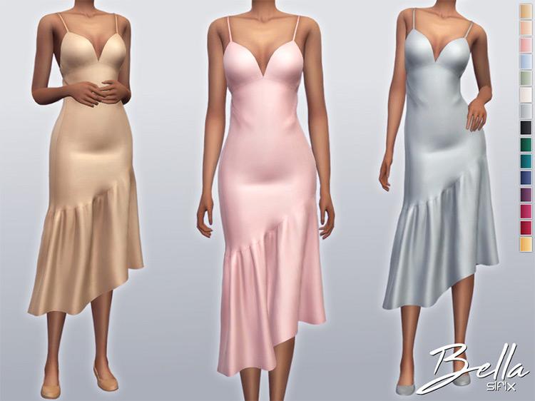 Bella Dress / Sims 4 CC