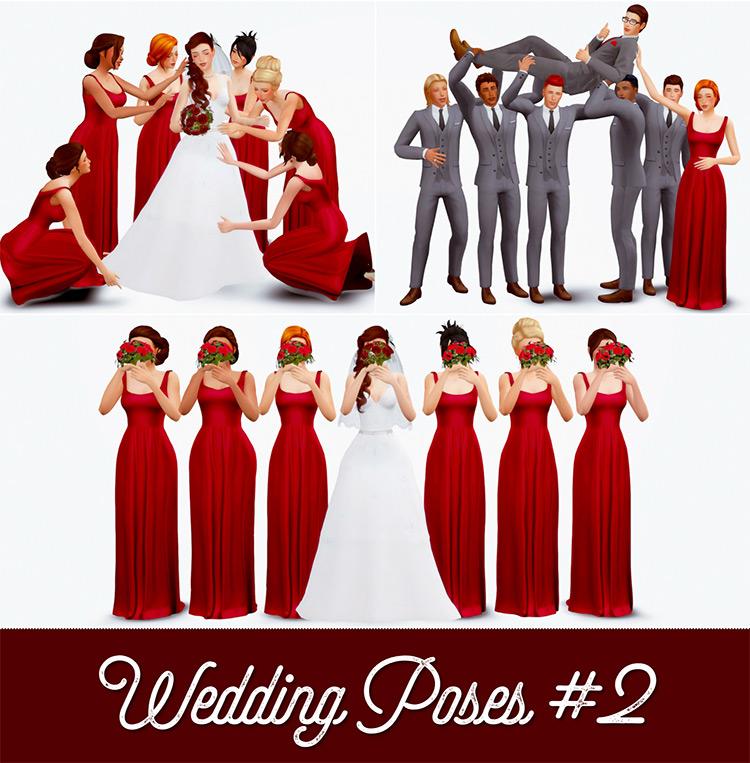 Wedding Poses Set #2 / TS4