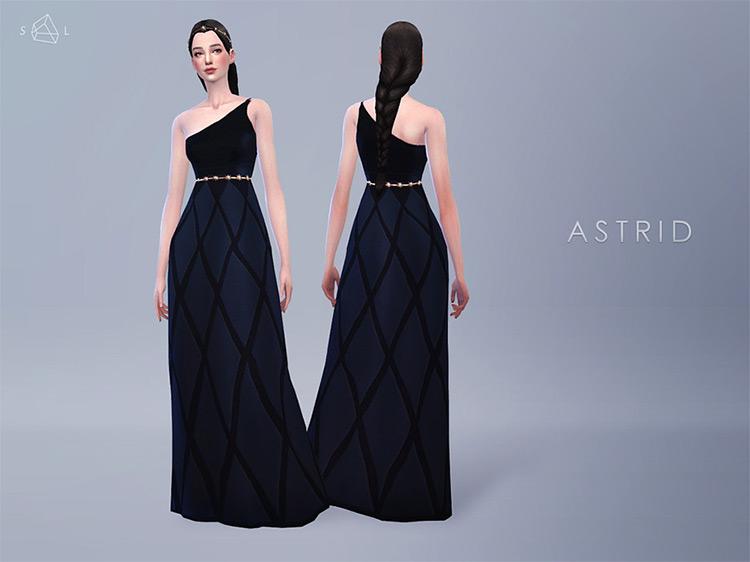 Astrid Dress / Sims 4 CC