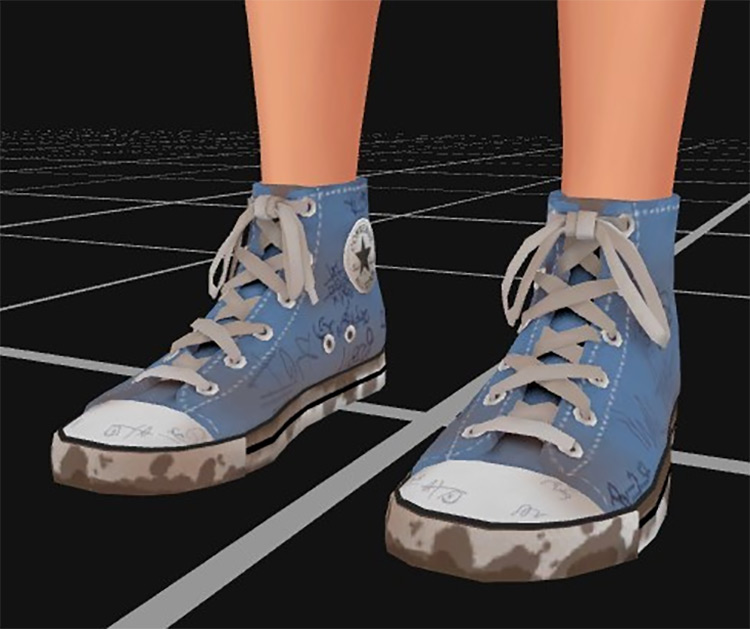 Dirty and Drawn-on Shoes / TS4 CC