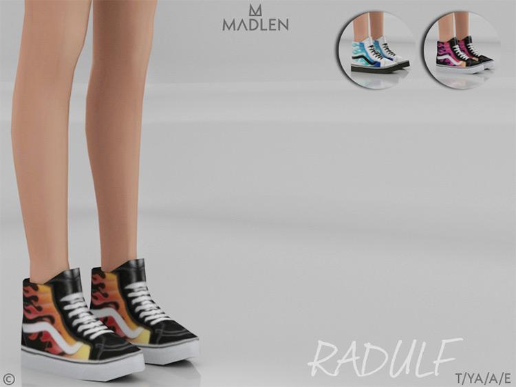 Madlen Radluf Shoes Hightops / Sims 4 CC