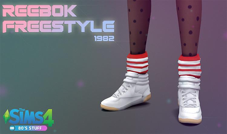 Reebok Freestyle 1982 Hi-Tops / Sims 4 CC