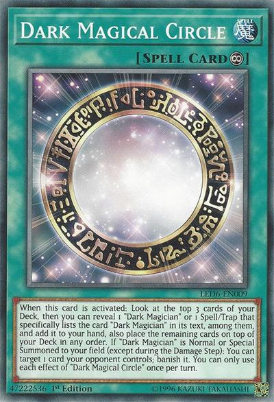 Dark Magical Circle YGO Card