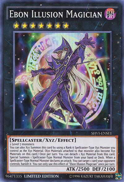 Ebon Illusion Magician YGO Card