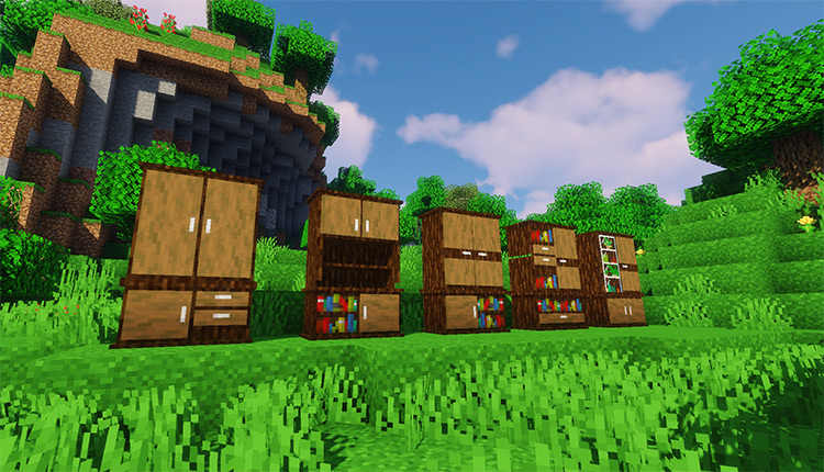 Macaw's Furniture Modset for Minecraft
