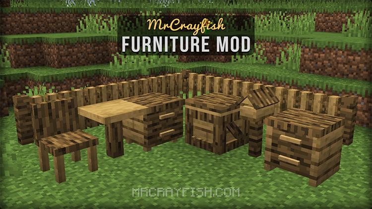 MrCrayfish's Furniture Mod Minecraft Preview