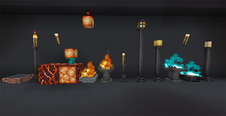 Extended Lights For Minecraft