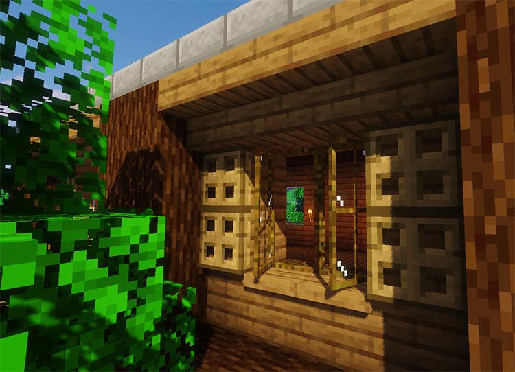 Macaw's Windows Mod Preview / Minecraft