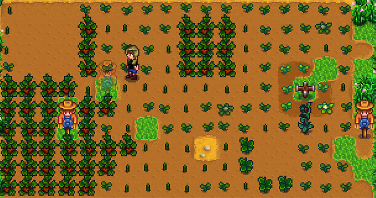 Transparent Objects / Stardew Valley mod