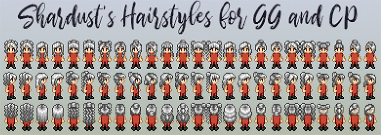 Shardust's Hairstyles Mod for Stardew Valley